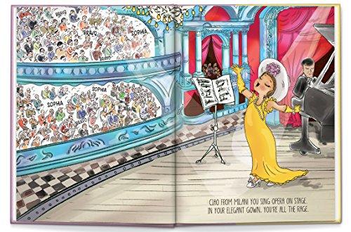 Birthday Gift for Girls, Self Esteem Book for Girls, Personalized Children's Book