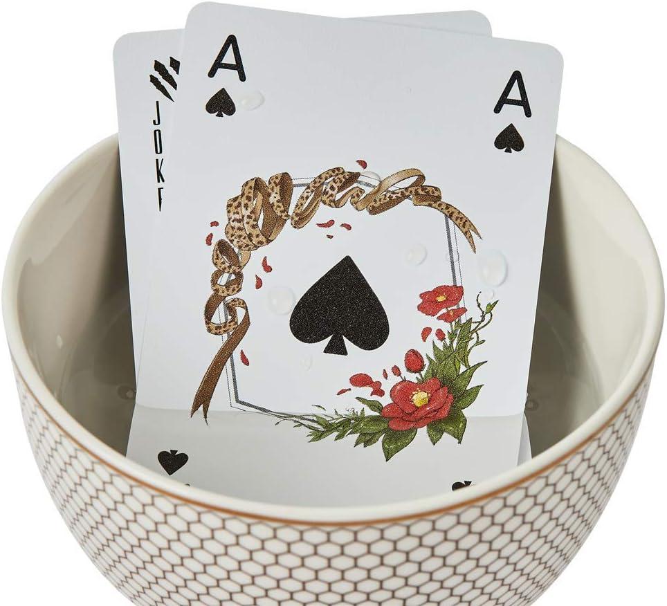 Tichu Board Game Poker Size 2 Decks of Cards Oroora 100/% Waterproof Embossed Plastic Playing Cards