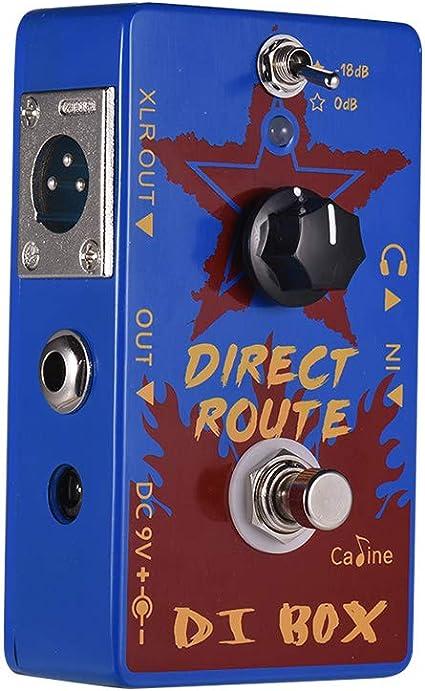 Tickas Caline CP-64 Direct Route Blue DI Box Pedales para efectos ...
