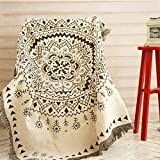 AUKUK Navia style multi-function removable and washable 130 180 cm fashion sofa blanket carpet tablecloth window window pad tapestry bed blanket carpet to meet the delicate life
