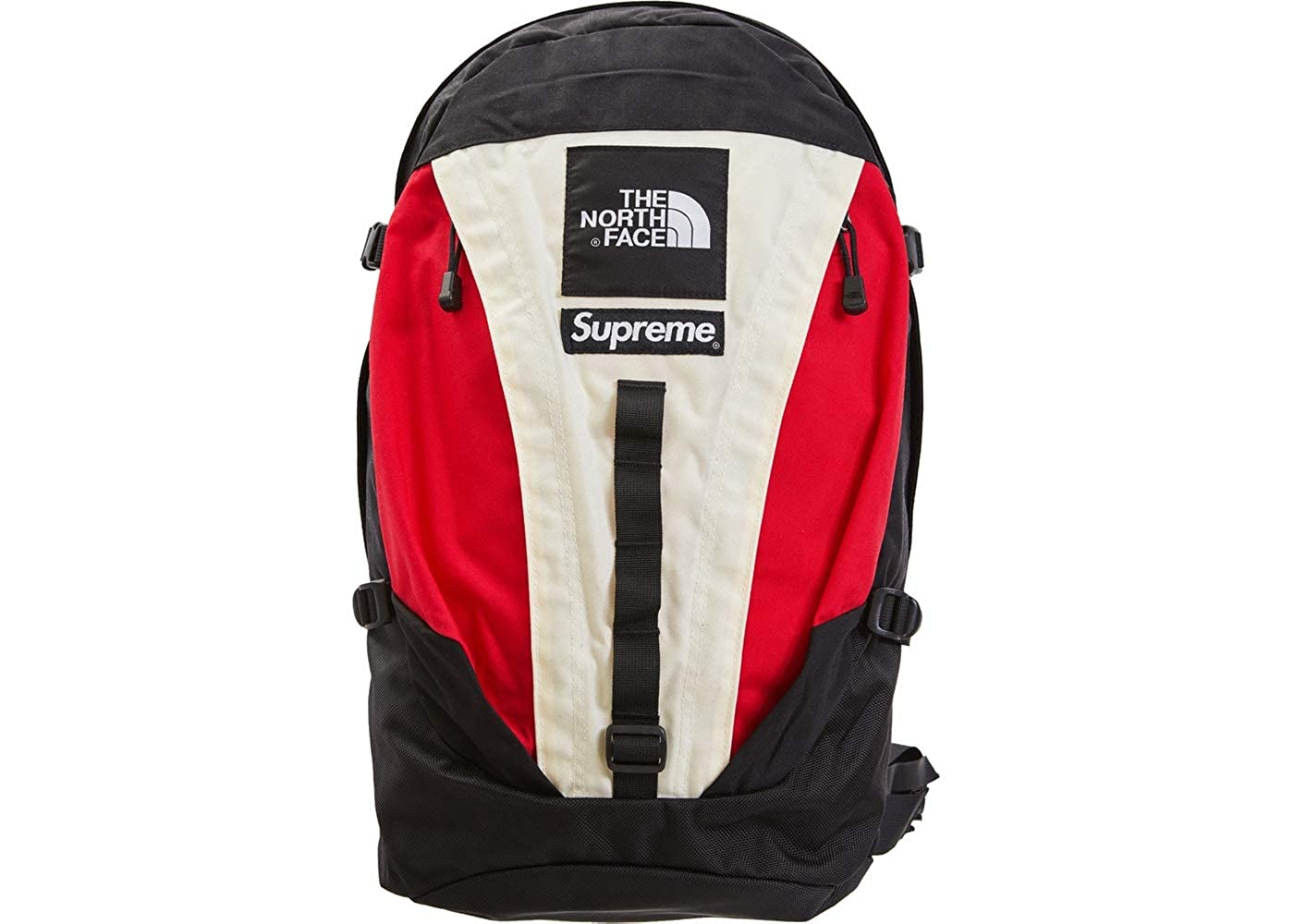 Supreme/North Face Expedition Backpack White 18FW シュプリーム/ノースフェイス エクスペディション バックパック (アメリカ正規並行輸入品) [並行輸入品] B07NDQ15HP