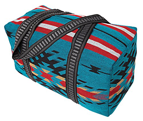 Southwest Shoulder Tote Duffel Bag . Beautiful Geometric Patterns in Vivid Colors F - Vivid Pattern