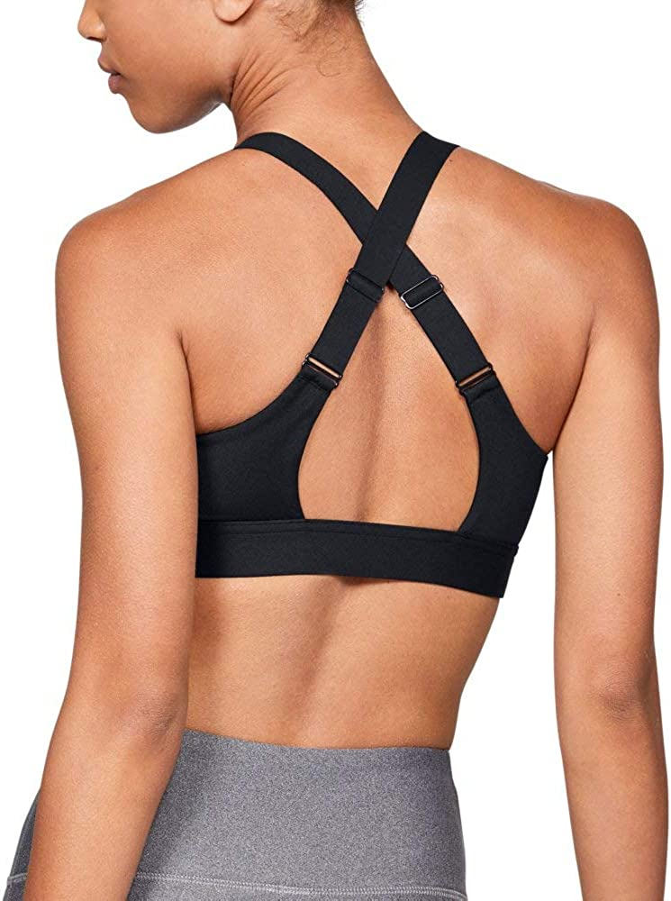 Under Armour Women's Eclipse High Impact Front Zip Sports Bra: Clothing