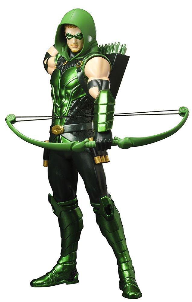 Promoción por tiempo limitado DC Comics New 52 Versión Verde Flecha ARTFX Estatua
