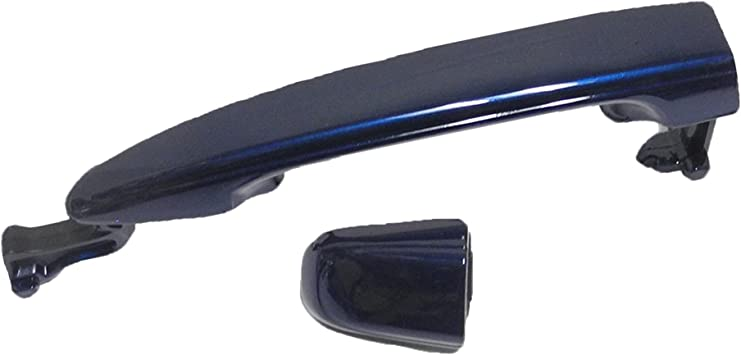 Rear Outside Door Handle W//O Keyhole For 04-10 Toyota Sienna Super White II 040