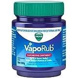 Vicks VapoRub Decongestant Chest Rub, 100g