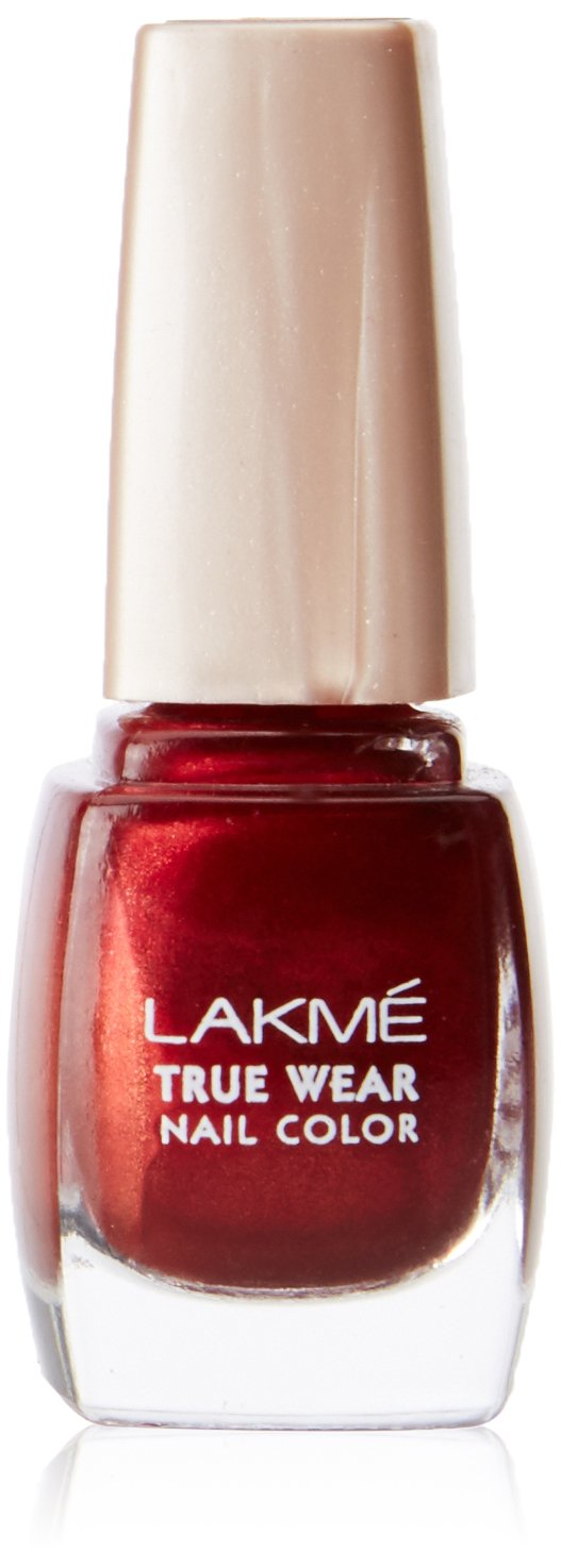 Buy Lakme True Wear Nail Color, Reds & Maroons 404, 9 ml Online at ...