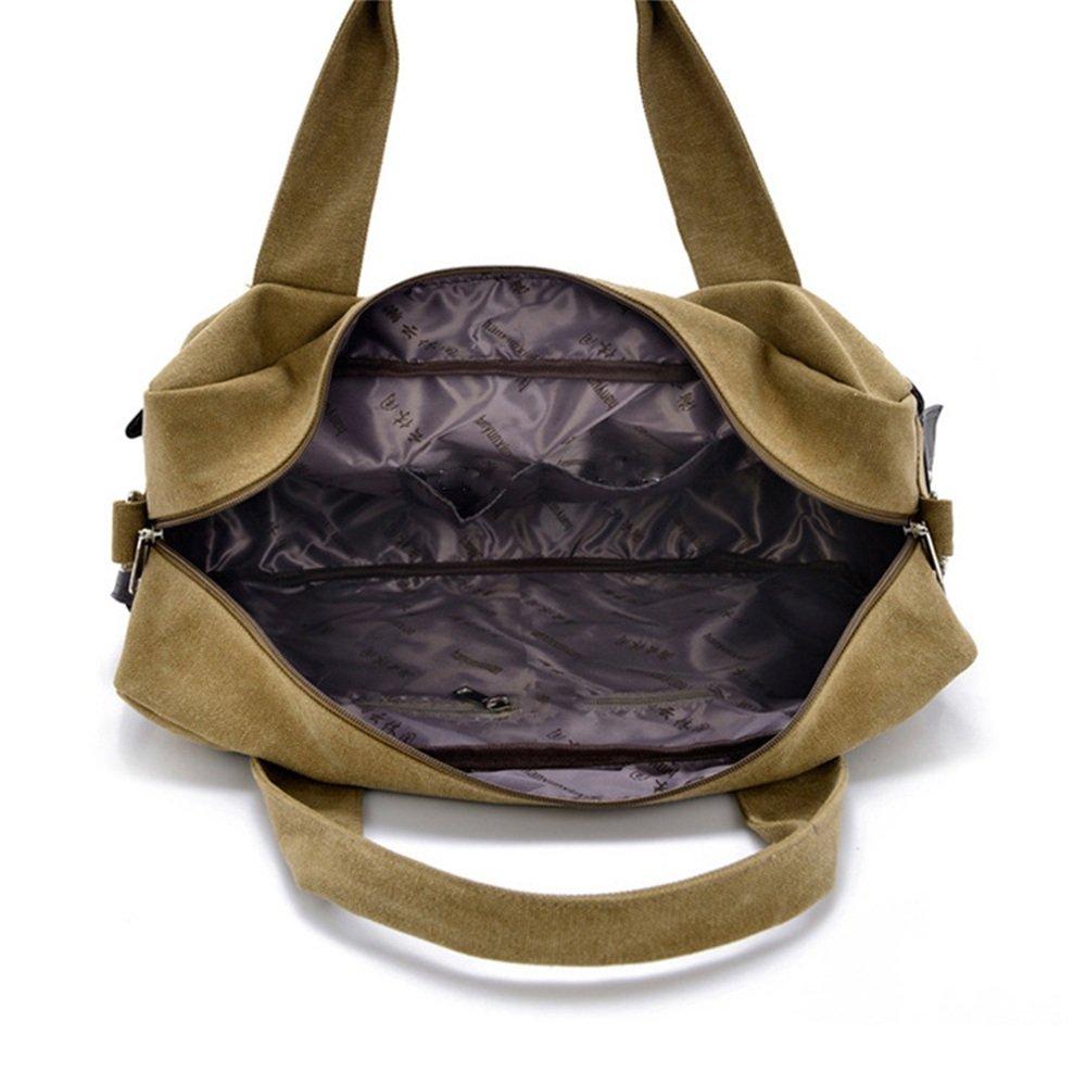 Fklee Canvas Handbag Large Canvas Bag Man Bag Cross Travel Bag Travel Luggage Bag Travel Tote Luggage Bag