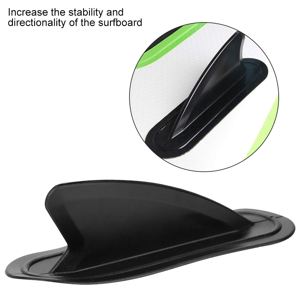 PVC Surfboard Surfing Side Fins for Paddle Board Stability VGEBY Surfboard Fin