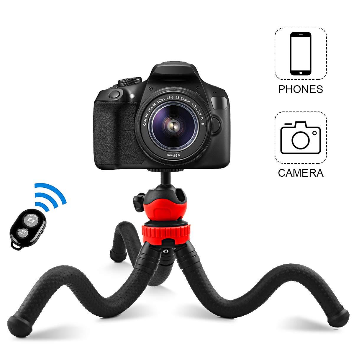 8 S8 Samsung S9 Huawei P20 y Otros Android e iOS Abafia Palo Selfie Tr/ípode 4.5-6.5 3 en 1 Selfie Stick Bluetooth Extensible Rotaci/ón de 360 /° con Control Remoto para iPhone XS//X