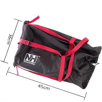 NH Saco de Bolsa de Dormir Compresión Peso Ligero Acampar al Aire Libre Bolso Llevable de Almacenamiento: Amazon.es: Deportes y aire libre