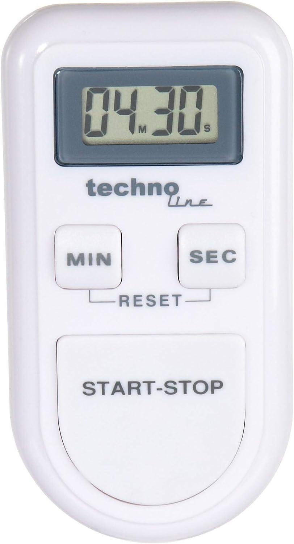 KURZZEIT-WECKER KT 300 TECHNOLINE DIGITAL KURZZEITMESSER 3 X COUNT-DOWN-TIMER