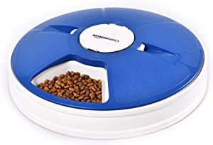 Amazon Basics Automatic Electronic Timed Pet Feeder - 6 Portions