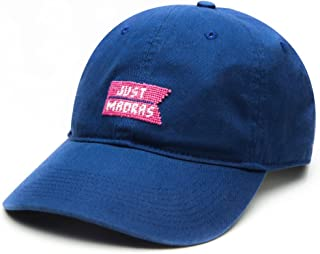 product image for Just Madras X Smathers & Branson Baseball Hat- Navy