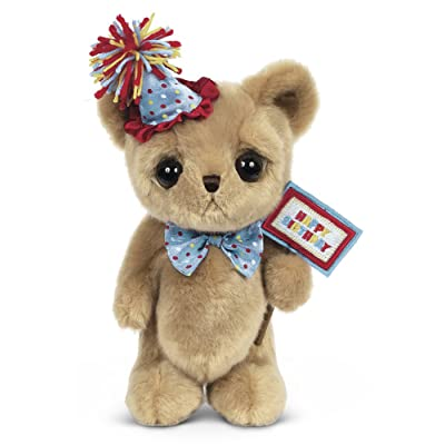 "Bearington Big Head Party Ted, Birthday Celebration Plush Stuffed Animal Teddy Bear, 12"": Toys & Games"