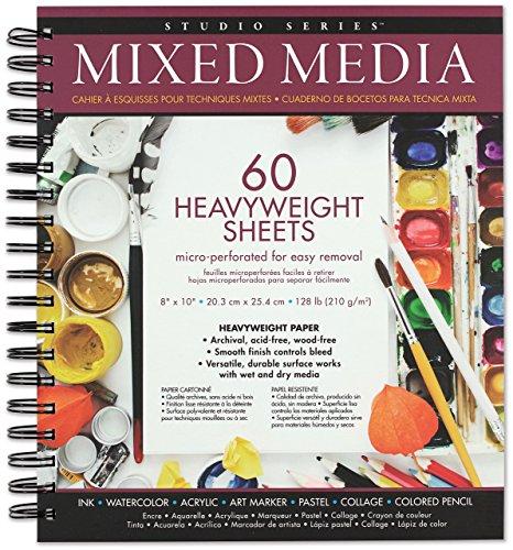 Studio Series Mixed Media Pad 8'' x 10'' (60 heavyweight sheets) ()