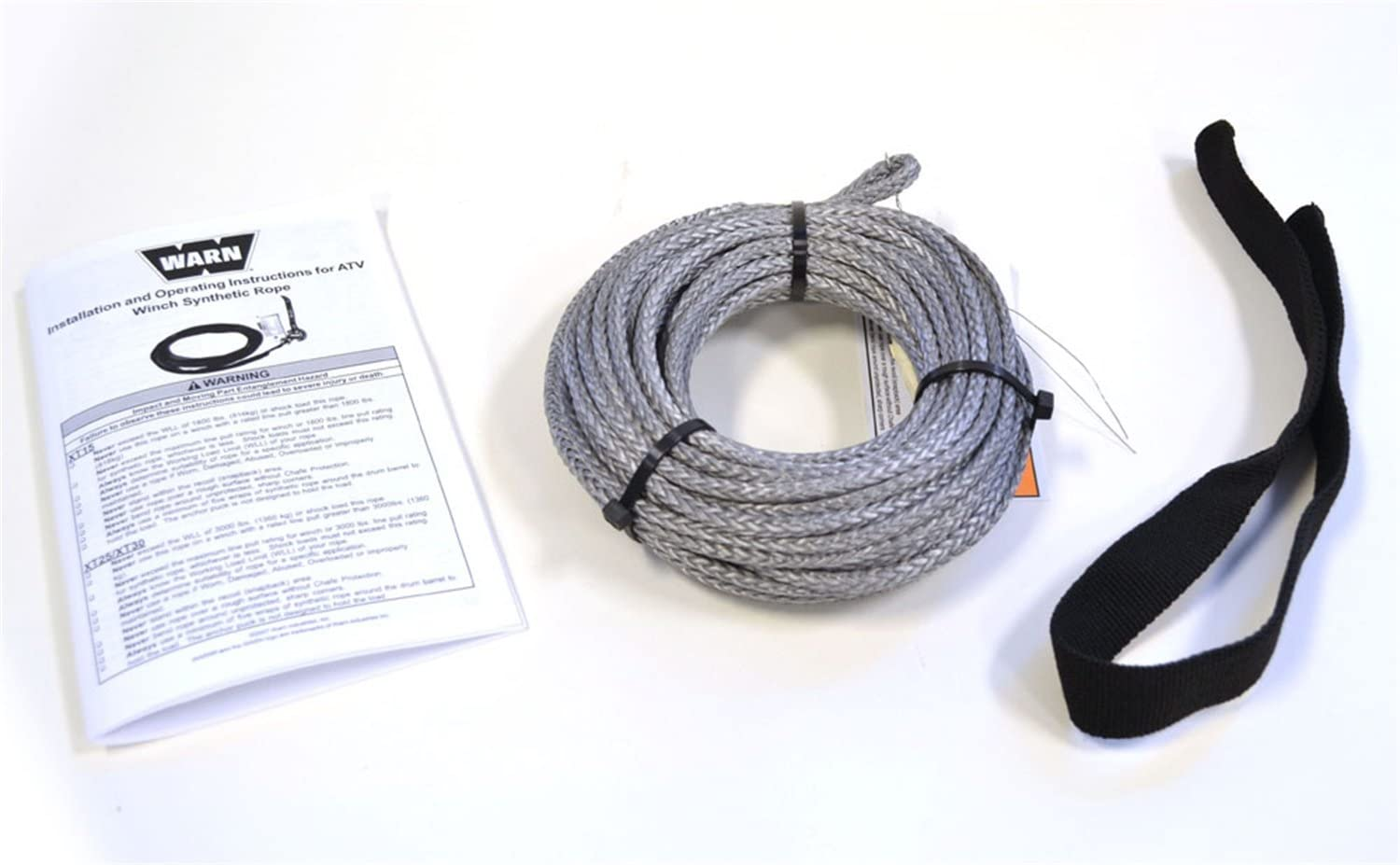 73599 Warn Winch Synthetic Rope ONLY