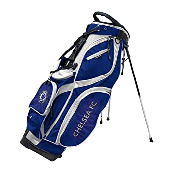 422373f1a2 Chelsea FC Stand Golf Bag - Blue White Gold  Amazon.co.uk  Sports   Outdoors