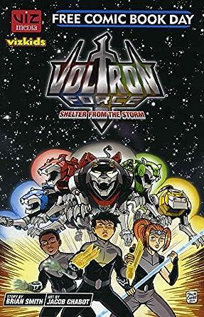 Amazon com: Voltron Force FCBD #2012 VF/NM