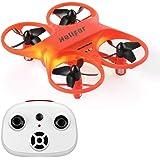 HELIFAR H8 Mini RC Drone, RC Quadcopter con función de rotación de 360 °para Adultos, Anti-colisión y Control Remoto más Adecuado para niños, Principiantes (Naranja)