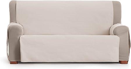 Eysa Garona Protect Funda de sofá, 90% algodón 10% Poliester, 06/Gris, 3 plazas: Amazon.es: Hogar