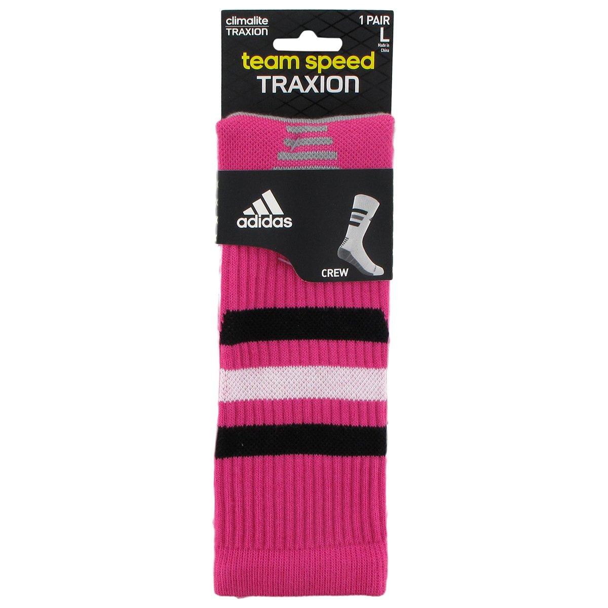 quality design 13821 b2410 Amazon.com  adidas Team Speed Traxion Crew Sock  Sports   Outdoors
