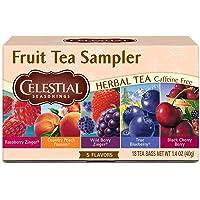 Celestial Seasonings Herbal Tea Fruit Sampler - 18 Tea Bags (Pack of 1)