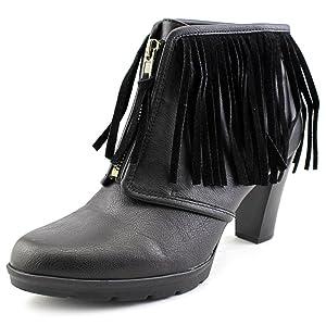 American Living Kallee Women US 5 Black Ankle Boot