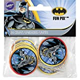 Wilton Batman Fun Pix Cupcake Toppers, Multicolor