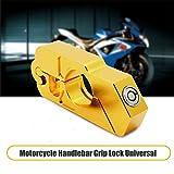 Motorbike Handlebar Lock - MASO Aluminum Alloy