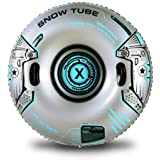 XFlated Snow Tube, Heavy Duty Inflatable Snow Tube Sled for Kids and Adults, Giant Snow Toys for Winter Sport Fun