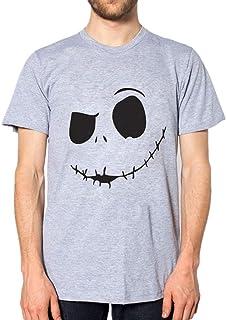 EUCoo Uomo T Shirt Confortevole con Colletto Tondo Stampato con Stampa del Collare del Diavolo Nuovo Divertente Manica Corta