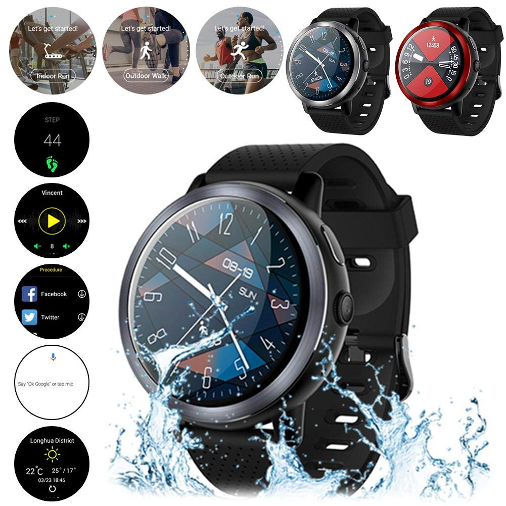 Amazon.com: Rundaotong-US LTE 4G Android 7.0 Smart Watch ...