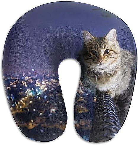 Tabby Cat Neck Pillow, Child's Neck