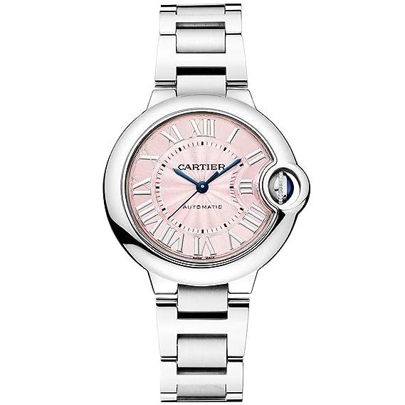 Cartier Ballon Bleu de Cartier W6920100 - Reloj automático para Mujer, Acero Inoxidable, Esfera