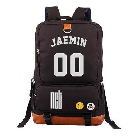 Amazon.com: Fanstown Kpop NCT - Mochila para escuela, bolsa ...