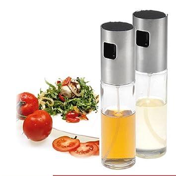 Spray de aceite de oliva para barbacoa, cocinar y hacer ensaladas, utensilios de cocina