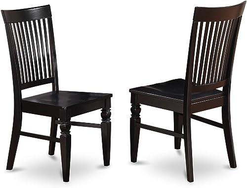 East West Furniture Weston kitchen chair