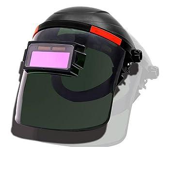 ZHIFENGLIU Máscara De Soldadura Intercambiable Ligera/Máscara De Soldadura por Radiación/Máscara Montada En