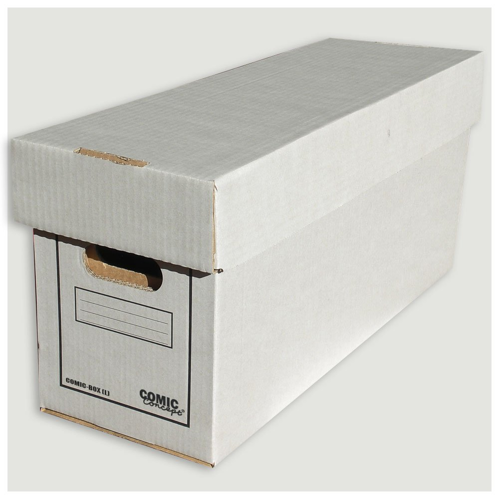 Comic Concept - Cajas para cómics (largas), 2 cajas de cartón resistente: Amazon.es: Bricolaje y herramientas