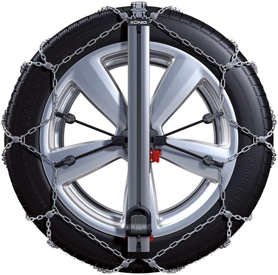 B BB-EP Easy-fit SUV Snow Chains Set for Land Rover Discovery 4 2009