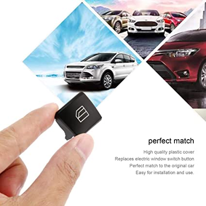 TAOHOU Car Electric Window Switch Button Cover Cap for Mercedes ...