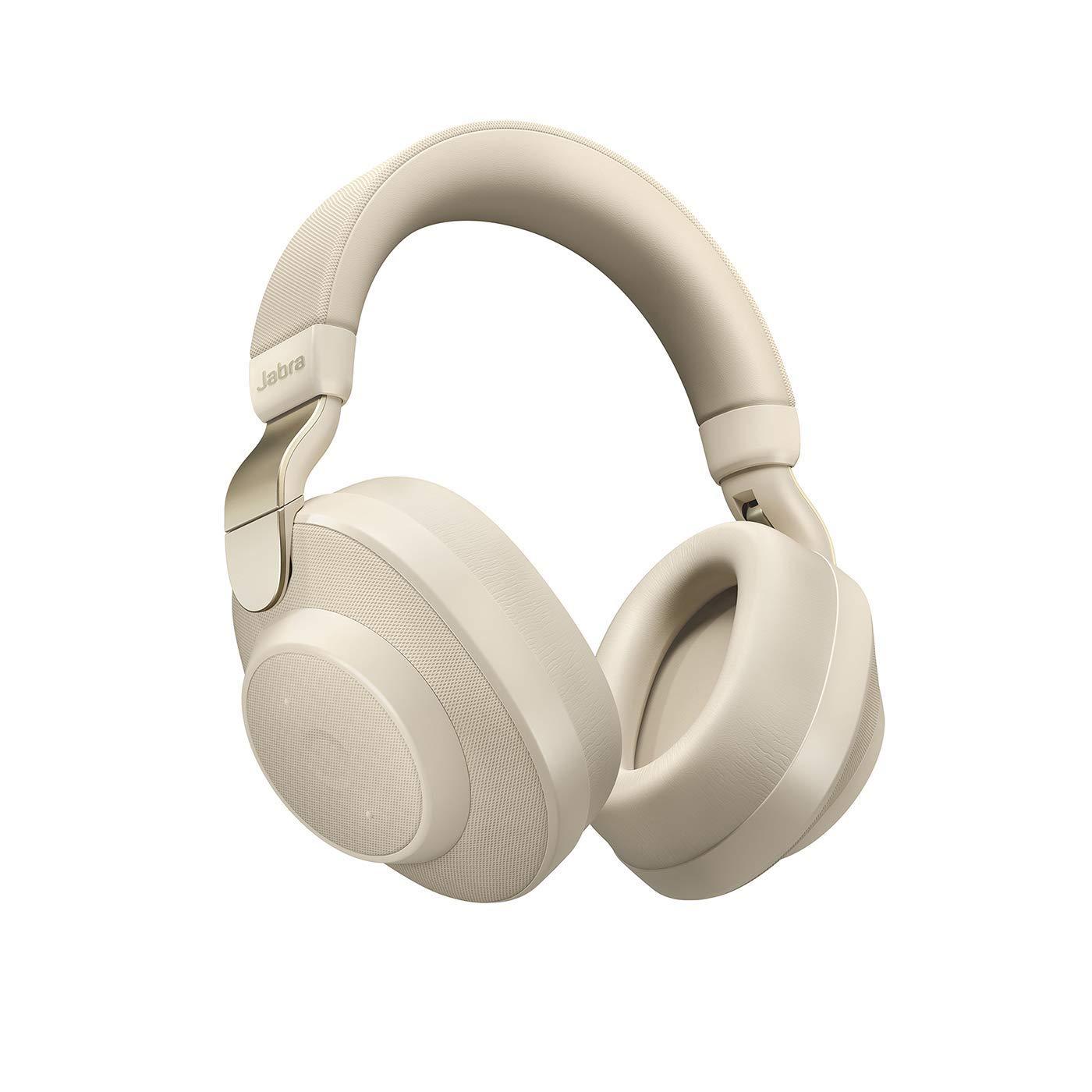 Jabra Elite 85h - Gold Beige Over Ear Headphones with ANC