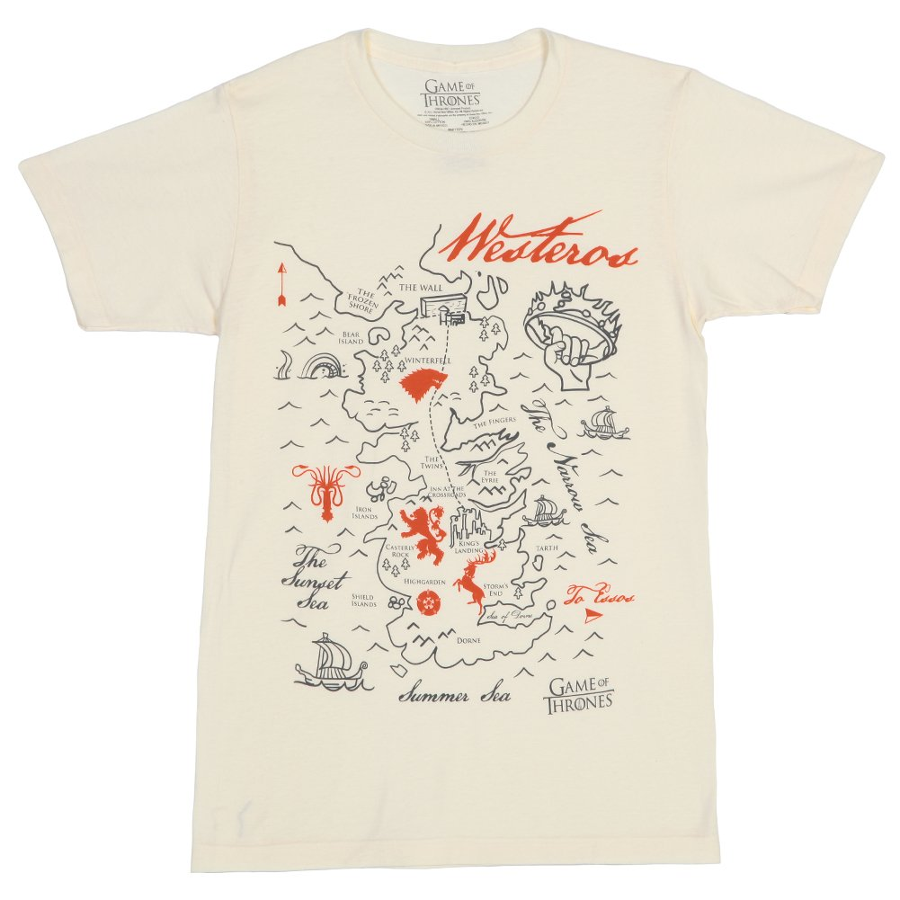 Game of Thrones Simple Westeros Map Adult T-Shirt Game Of Thrones Map T Shirt on game of thrones pokemon shirt, game of thrones stark shirt, game of thrones school shirt, united states map shirt, africa map shirt, game of thrones beer bottles, fargo map shirt, game of thrones table book, westeros map shirt,