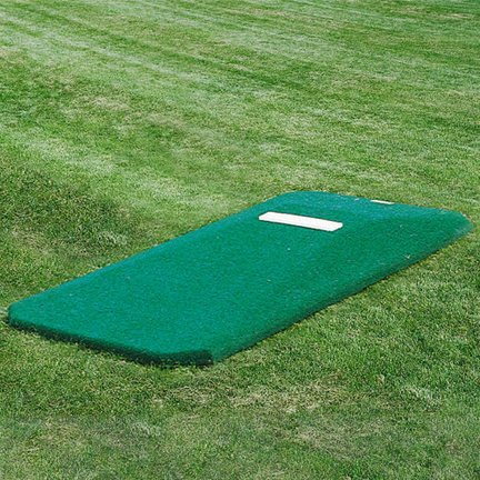 9'L x 4'W x 6''H Prep Portable Pitching Mound by Vantage Products