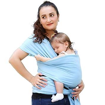 20592fef23b Amazon.com   TNZMART Breathable Lightweight Hands Free Baby Wrap ...