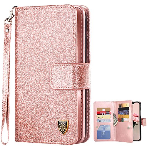 How to buy the best glitter wallet case iphone x?