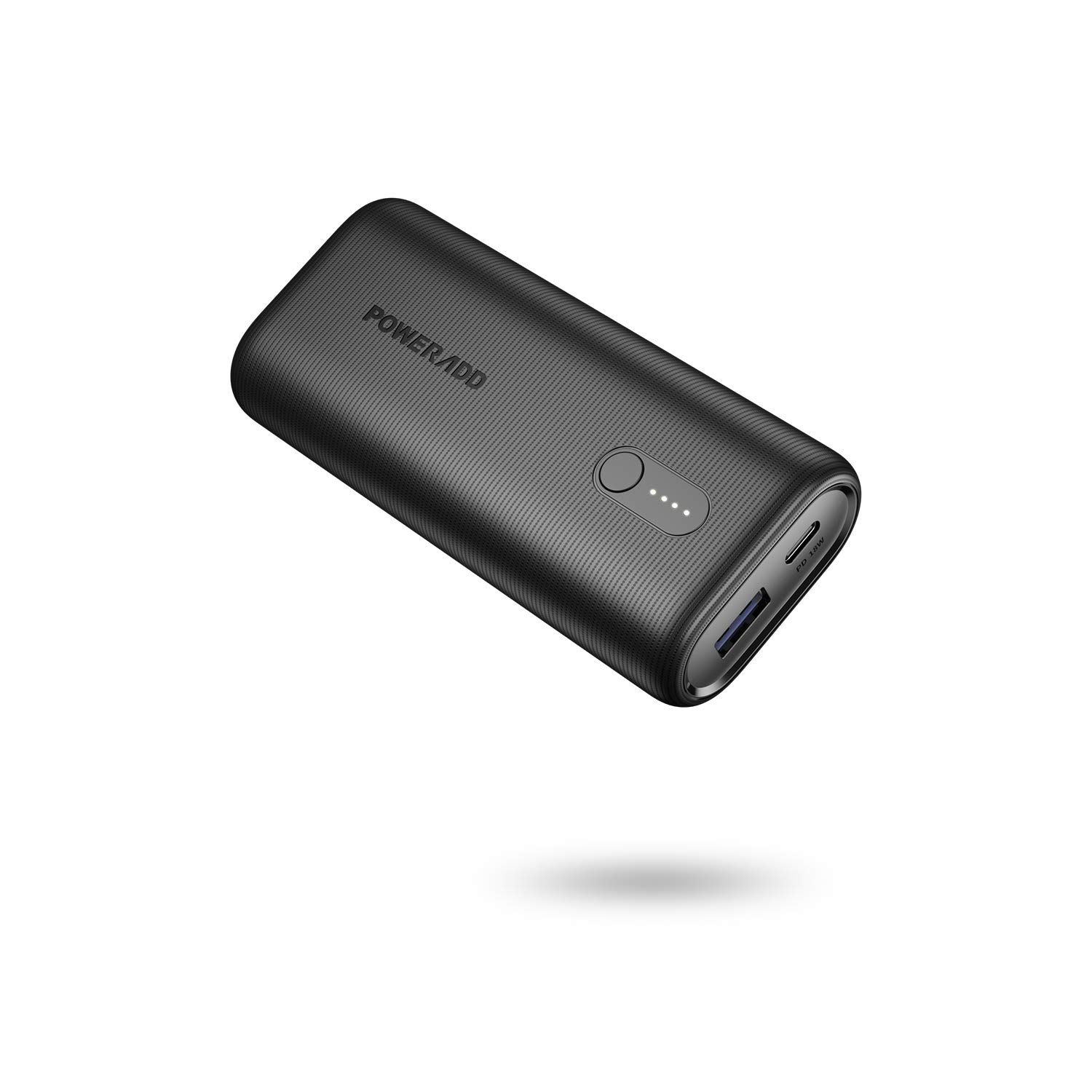 Poweradd EnergyCell PD 10000mah Power Bank USB-C Power Delivery (18W) Power Bank Quick Charging Universal Compatiblity for Various Smartphones and Tablets