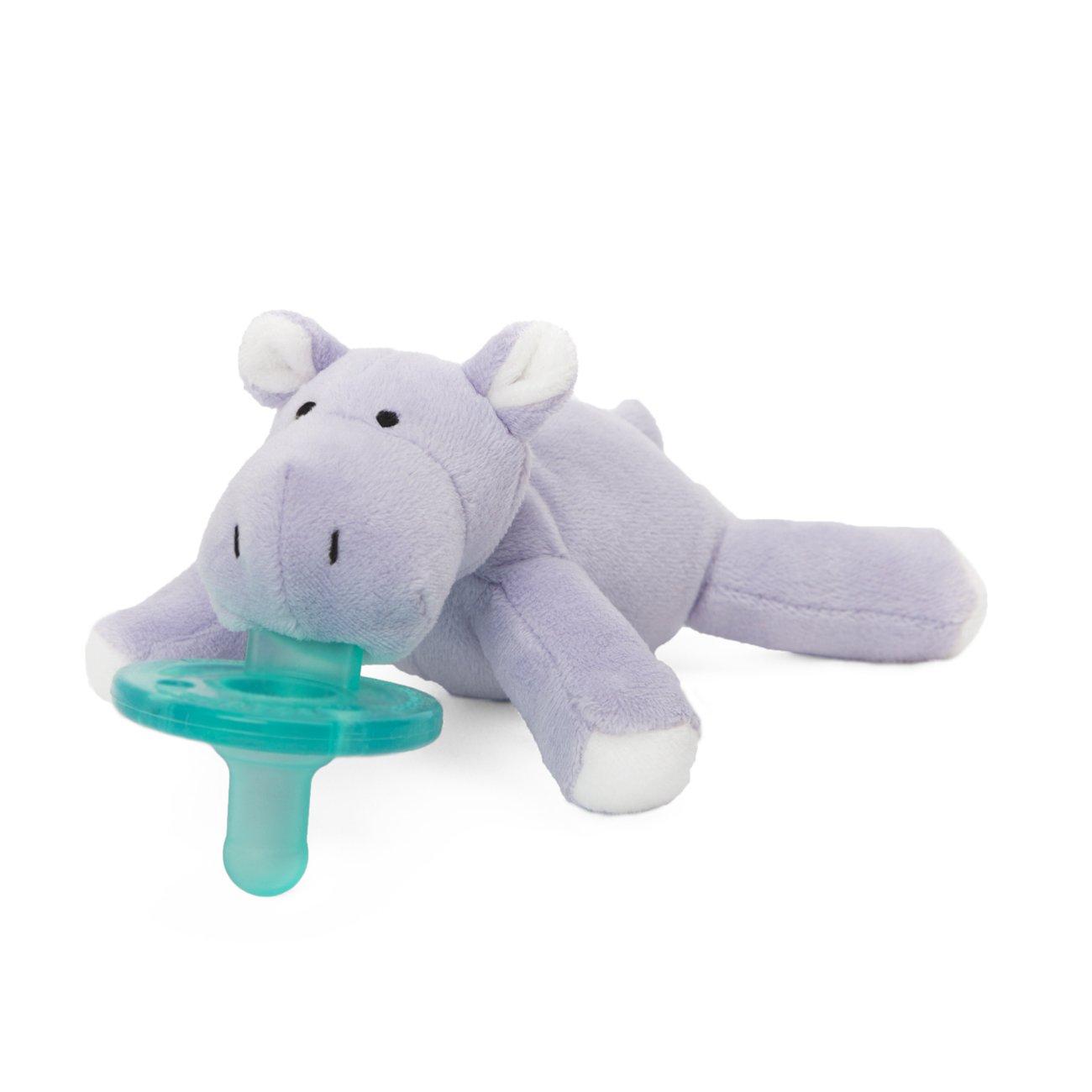 Amazon.com : Wubbanub Infant Pacifier - Hippo : Baby