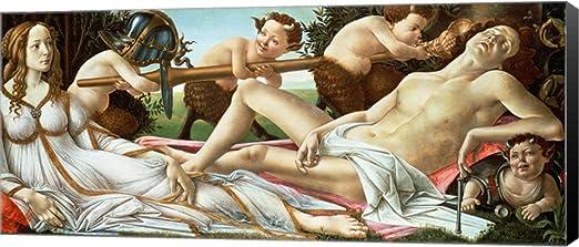 BIRTH OF VENUS 1486 Sandro Botticelli Rolled CANVAS ART PRINT 36x24 in.
